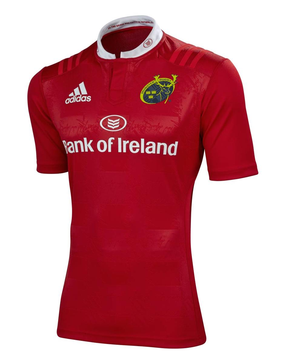 Munster Rugby Home Jersey