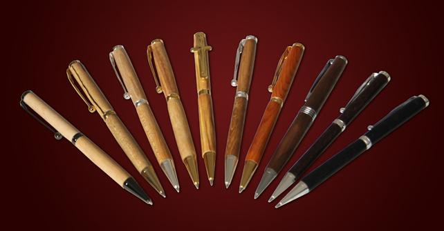 Handcrafted Wooden Pens