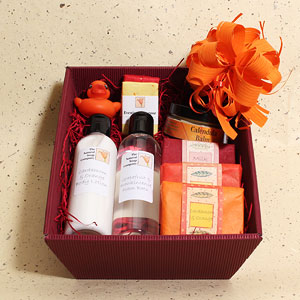 Spice Gift Basket from The Natural Soap Company