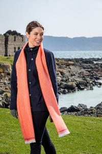 Flame and Tomato Scarf. Product thumbnail image